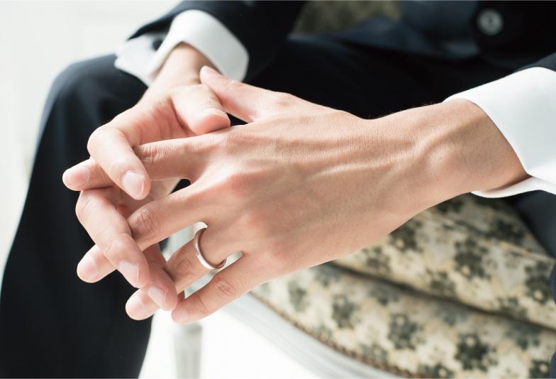 【福島市】男性に着けてほしい結婚指輪 シンプルで丈夫なドイツ鍛造リング!