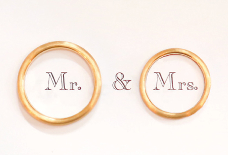 【姫路市】結婚指輪はコンビリングがお洒落??
