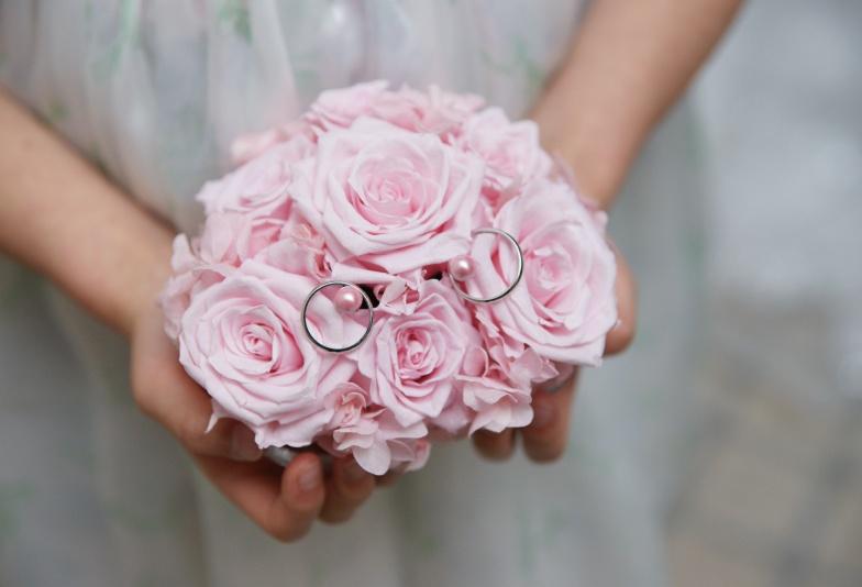 【富山市】ピンクダイヤモンドの結婚指輪!