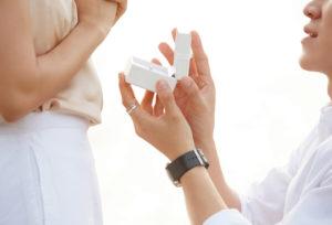 【名古屋市】大人可愛い♡ピンクダイヤの婚約指輪