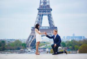 【富山市】ダイヤモンドブランドROYAL ASSCHERの婚約指輪でプロポーズ