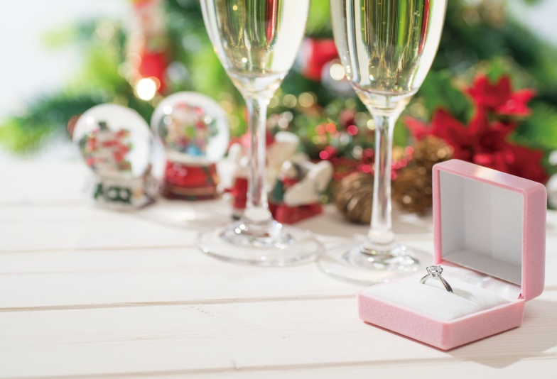 【福島市】クリスマスにプロポーズ♡婚約指輪の準備はお早めに!