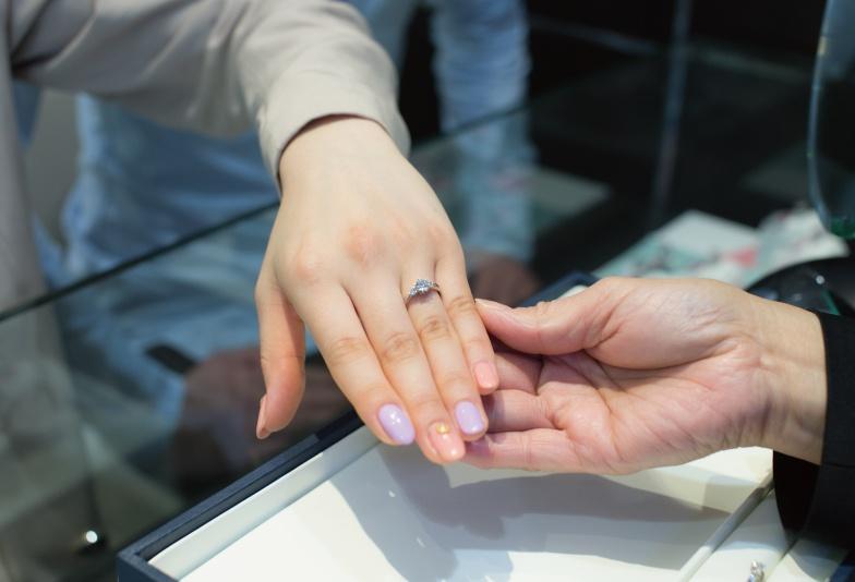 静岡市婚約指輪結婚指輪