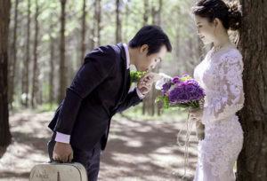 【名古屋市】おしゃれで上品なデザイン!つや消しの結婚指輪