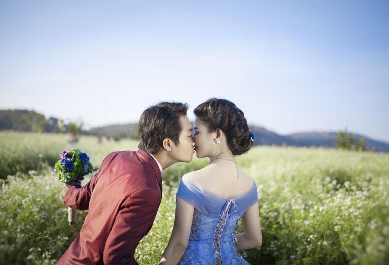 【浜松市】アレンジオーダーで叶う!サムシングブルーの婚約指輪・結婚指輪