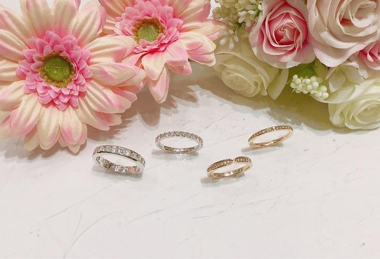 【石川県小松市イオンモール】婚約指輪・結婚指輪 きらきら華やか♡エタニティリングの魅力