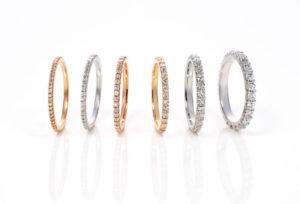 【浜松市】結婚10周年に贈りたい!ハーフエタニティダイヤモンドリング