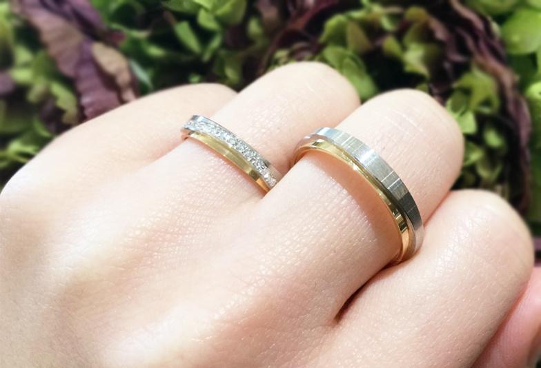 【富山市】プレ花嫁必見!結婚指輪はプラチナ×ゴールドカラーのコンビネーションで決まり!