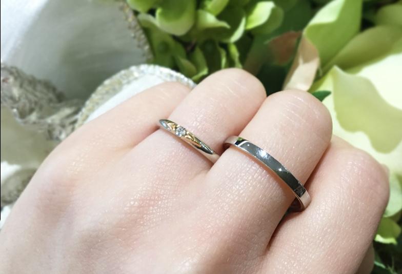 【富山市】お洒落な結婚指輪!コンビネーションリングの魅力とは