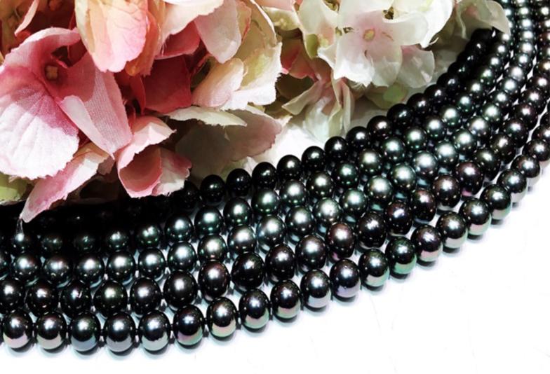 【石川県】小松市 黒蝶真珠ネックレスの色の種類