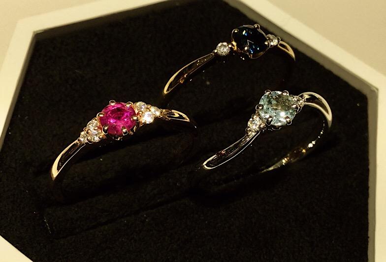 【新潟市】婚約指輪にダイヤモンド以外はあり!カラーストーンが人気