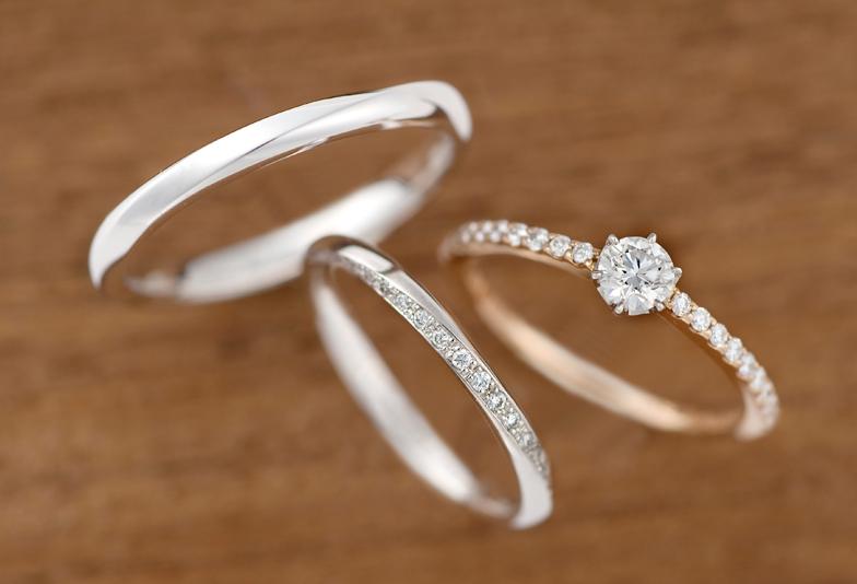 【沼津市】シンプルだけどオシャレな結婚指輪を探すカップルに人気のラブボンド「ジュピター」とは