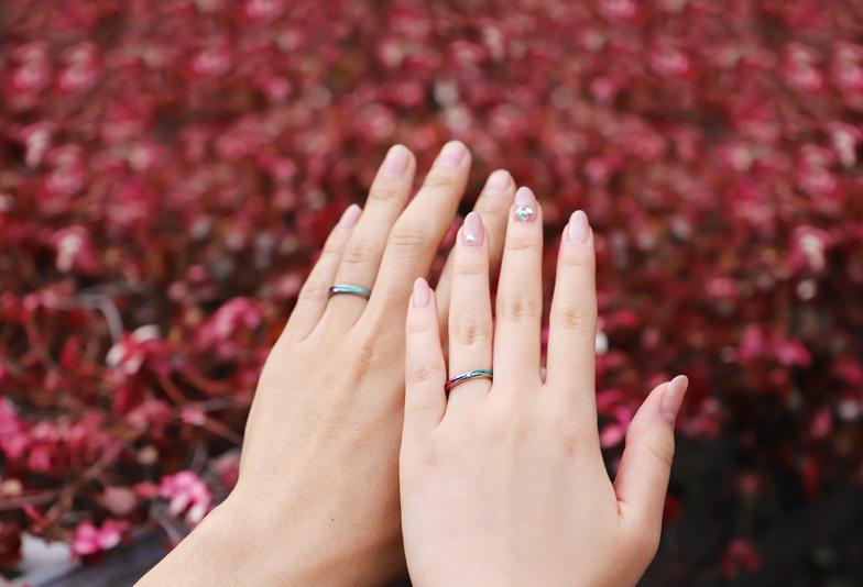 【静岡市】金属アレルギーの悩みを持つ方必見!アレルギーフリーの結婚指輪とは
