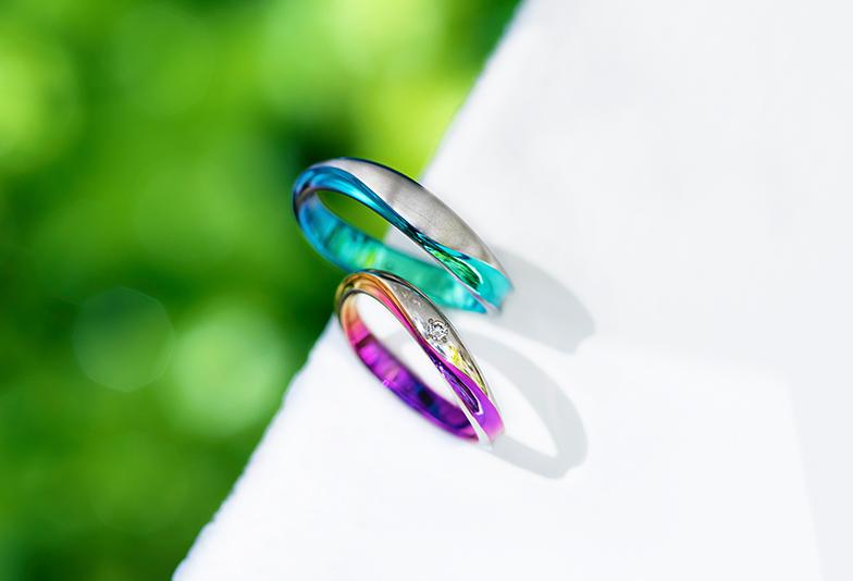 【浜松】個性が光るこだわりの結婚指輪SORAとは!?