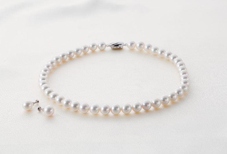 【郡山市】真珠のネックレスは必要?選び方とお手入れ方法