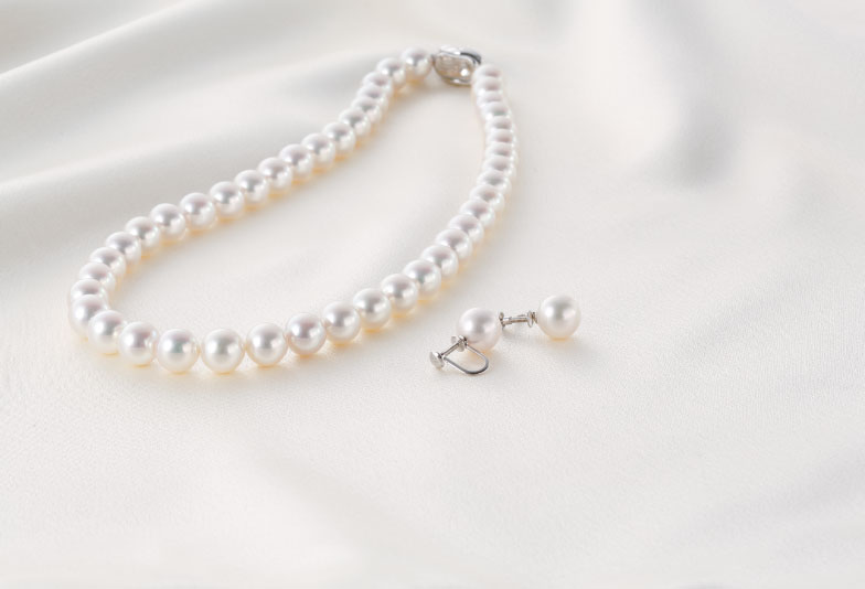 【福井市】真珠ネックレス、自分に似合うを見つける選び方3つの法則