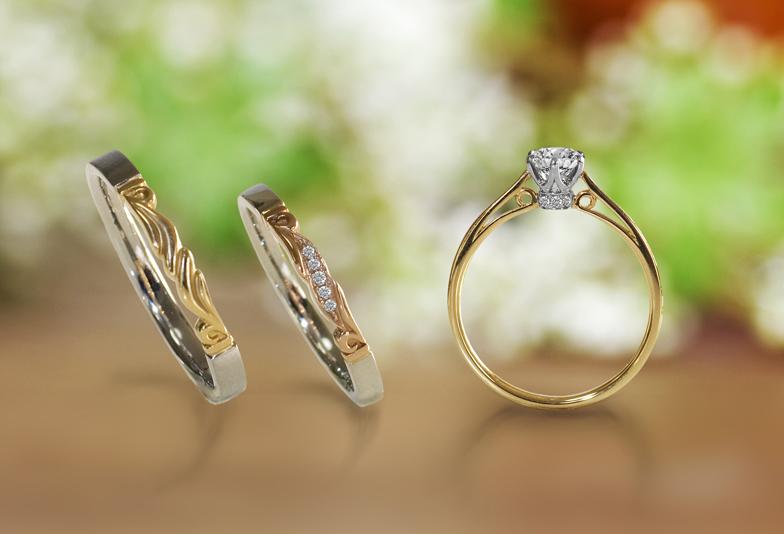 【静岡市】婚約指輪と結婚指輪のセットリングが可愛い大人気『LAPAGE-ラパージュ-』の魅力