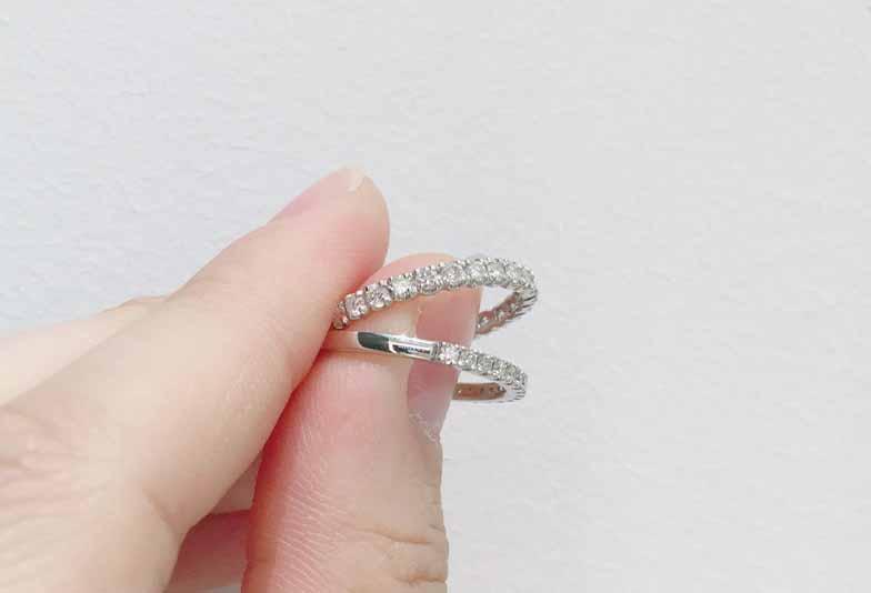 【浜松市】卒花嫁様に聞いた!私が結婚指輪にエタニティリングを選んだ理由