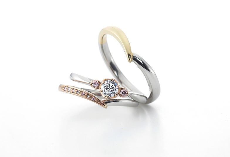 【山形市】婚約指輪と結婚指輪を重ねて着けたい方必見!おすすめデザイン