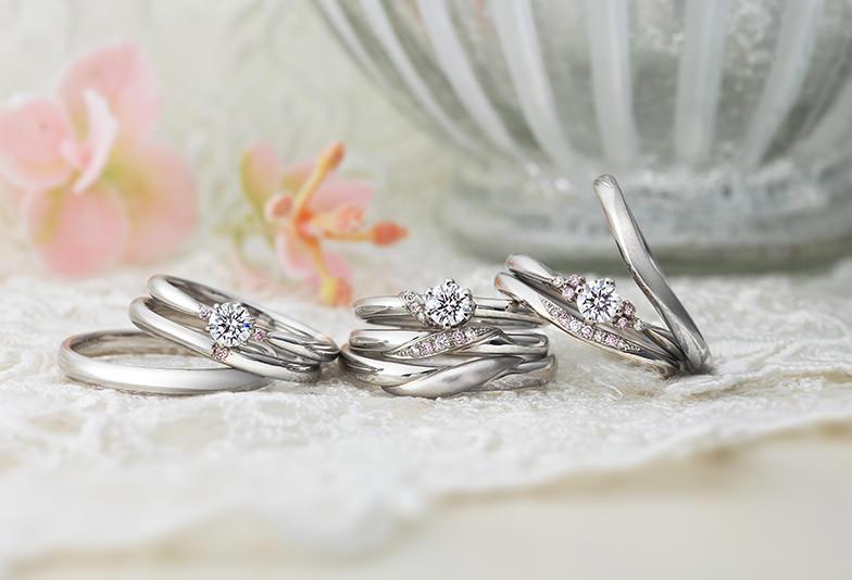 """【大阪・心斎橋】永遠の絆・運命の象徴を意味する""""ピンクダイヤ""""を使用した結婚指輪のブランド"""