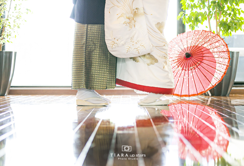 【静岡フォトスタジオ】クリスマスイヴに家族に贈られた結婚式の話