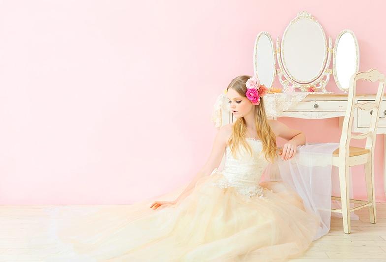 【山形市】ピンク色が好きな人必見!天然ピンクダイヤモンドで結婚指輪をかわいくアレンジ