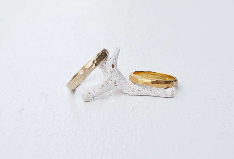 【新潟市】マット×ゴールドの結婚指輪/おすすめを知りたい!