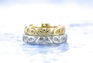 【沖縄県】ハワイアンジュエリーの彫り模様の意味とは?結婚指輪で人気「HEART ISLAND」で徹底検証!