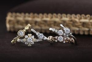 【沖縄県】要チェック!女性が喜ぶ婚約指輪とは?シンプルアンティークなPAVEO CHOCOLATの『BLANCHEブランシェ』