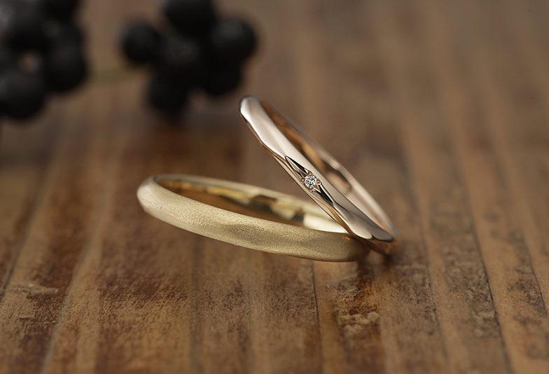 沖縄 結婚指輪 ナチュラルな指輪