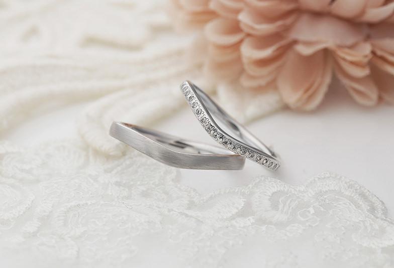 結婚指輪V字 エタニティリング