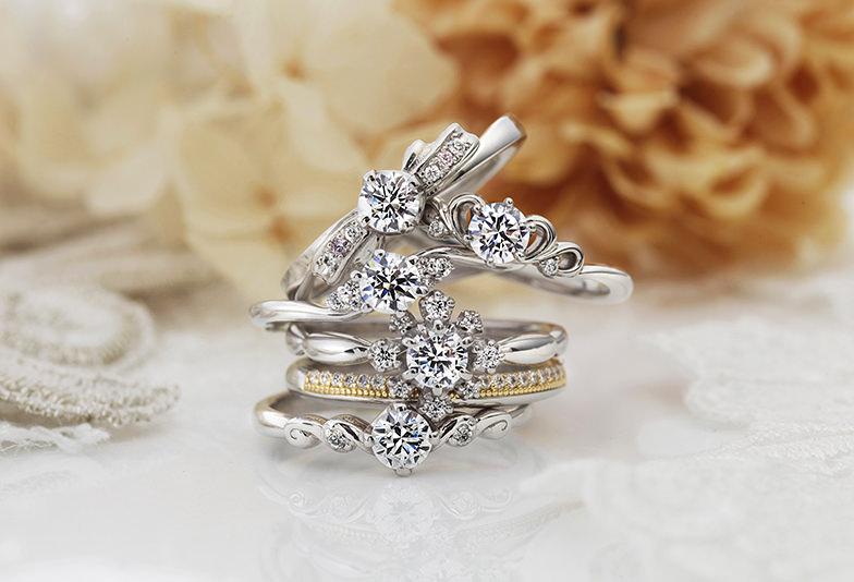 【静岡市】プロポーズで渡されたい!人気婚約指輪デザインランキング