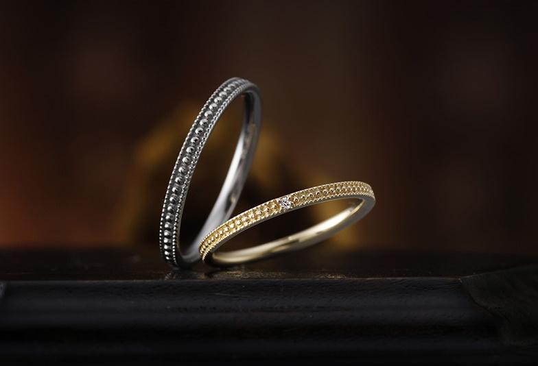 静岡市結婚指輪アンティーク