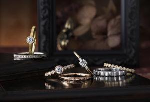 【沖縄県】ゴールドの結婚指輪ならCHER LUVの『MARGUERITE マーガレット』が絶対おすすめ