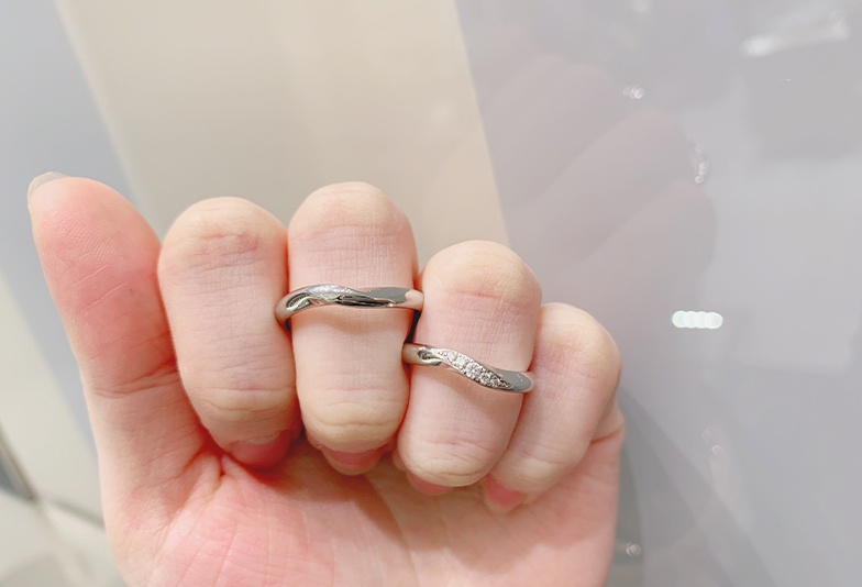 福井市で見られるロイヤルアッシャーの結婚指輪
