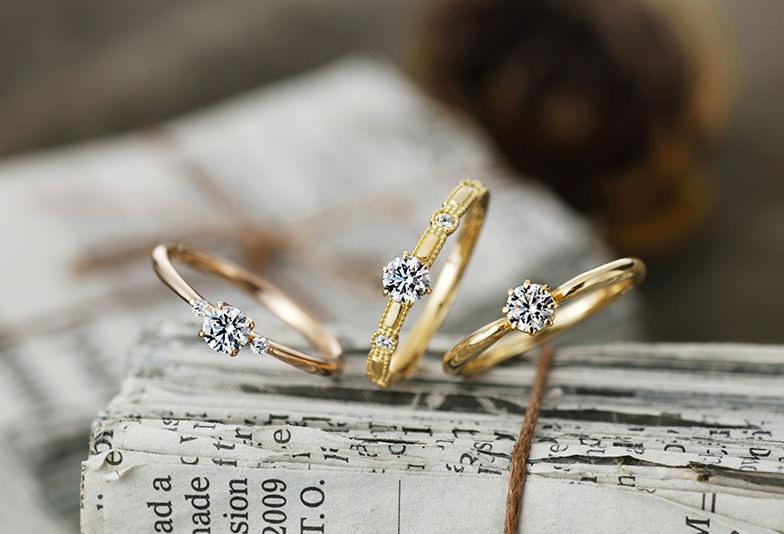 【沖縄県】婚約指輪「ピンクゴールド」と「イエローゴールド」の違いとは?