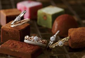 【沖縄県】不安解消!サプライズで婚約指輪を用意するならPAVEO CHOCOLATの『BRISEブリーズ』で。