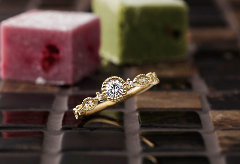PAVEO CHOCOLAT 婚約指輪