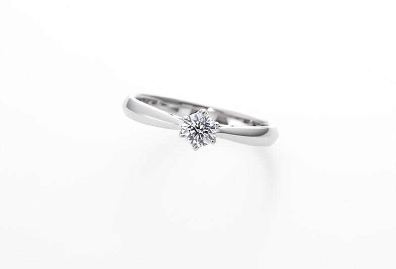 イロノハのシンプルな婚約指輪