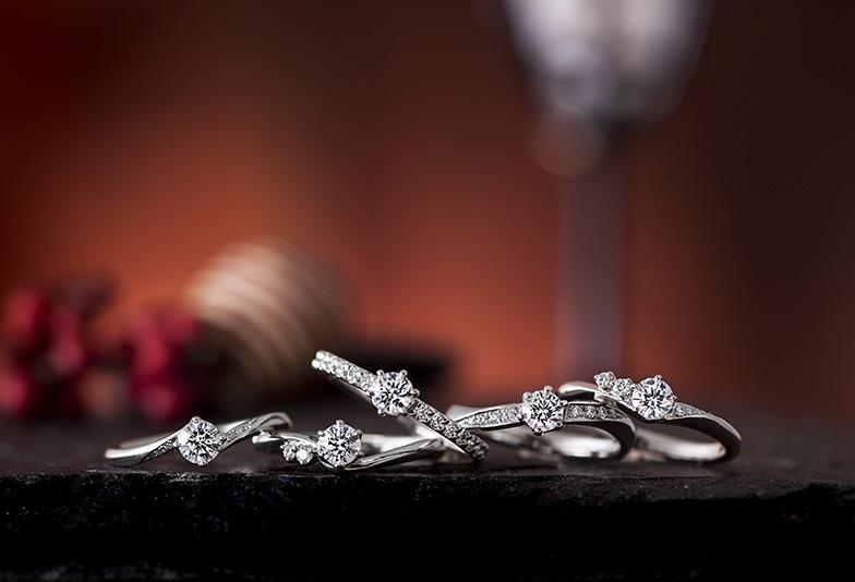 【山形県】シンプルな婚約指輪は「彩乃瑞」がおすすめ!婚約指輪は重ね着け重視で選ぼう