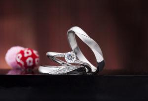 【沖縄県】おすすめは「シンプルな婚約指輪」一番人気の「イロノハ」運命の紡ぎ