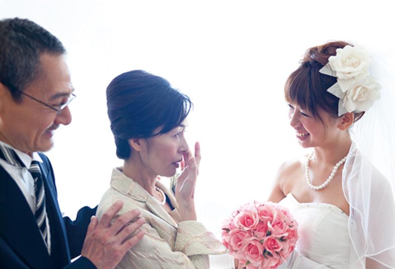 【荒尾市】結婚する娘へ母親が手伝う最後の身支度~真珠ネックレス~
