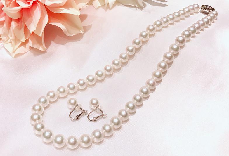 【石川県小松市イオンモール】真珠ネックレスを綺麗につけるために注意して欲しい4つのこと