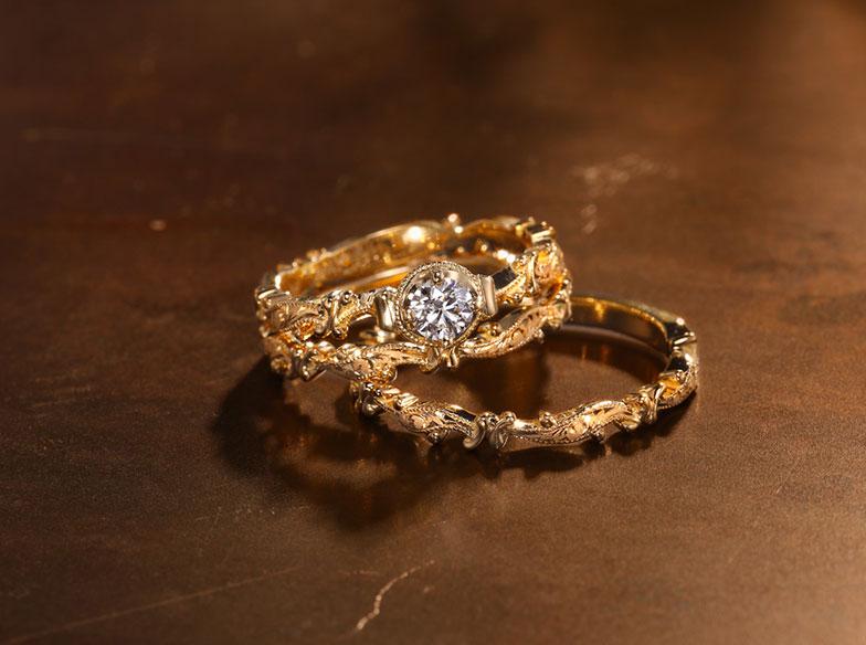 【浜松市】婚約指輪はアンティークで決まり!最高に可愛いChurch〈チャーチ〉の『WRITTEN VOWS リトンバウズ』