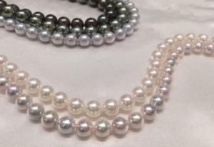 【福井市エルパ】真珠ネックレス!経年変色が解決する「PS加工」とは?
