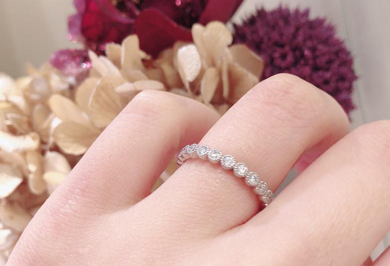【静岡市】女性が好きなエタニティリングって?結婚指輪・アニバーサリージュエリーにも人気の理由