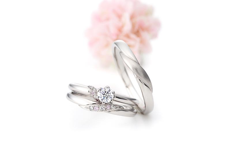 Milk&Strawberry婚約指輪・結婚指輪