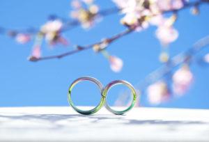 【静岡市】結婚指輪に桜模様を。指先から春を感じる「SORA舞桜」のデザインとは
