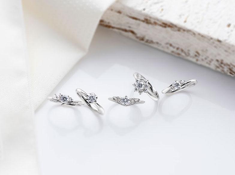 【浜松市】婚約指輪は普通じゃつまらない!今大人気のCaro〈カーロ〉の婚約指輪とは?