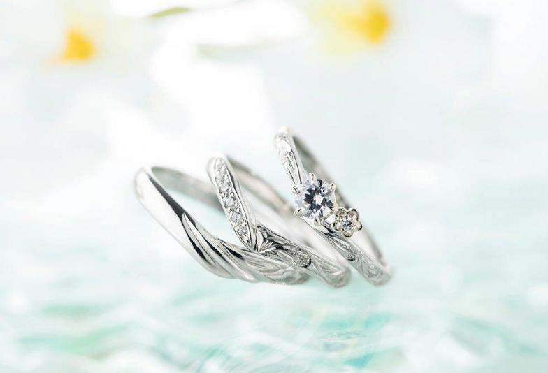 【福島市】婚約指輪と結婚指輪ハワイアンジュエリーおすすめは『プライベートビーチ』